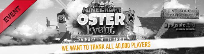 Minecraft Oster Event 2015 beendet