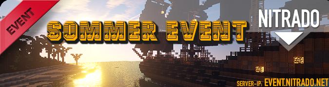 Nitrado Minecraft Sommer Event 2014