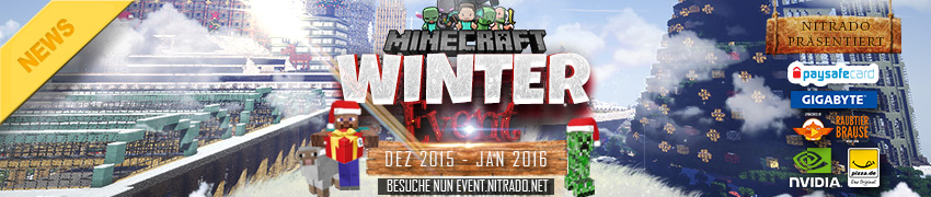 Nitrado:net Winter Event 2015