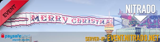 Minecraft Weihnachts Event 2014