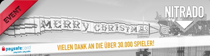 Minecraft Weihnachts Event 2014 beendet