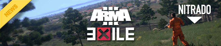 Affitta gameserver ArmA 3 Exile Mod