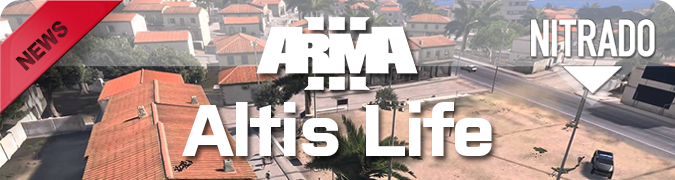 ArmA 3: Altis Life rent game server | nitrado net