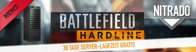 Battlefield Hardline Gameserver vorbestellen