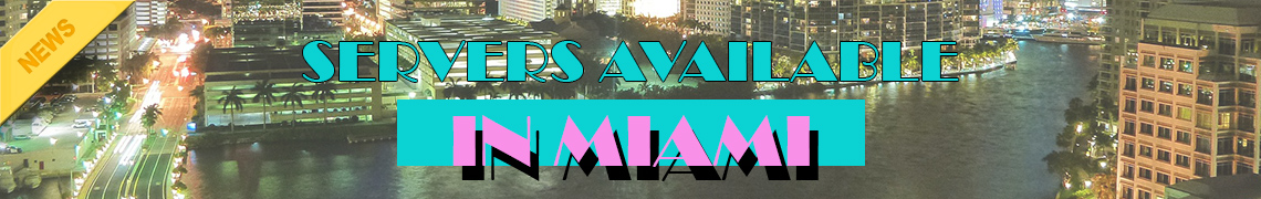 game server available in Miami