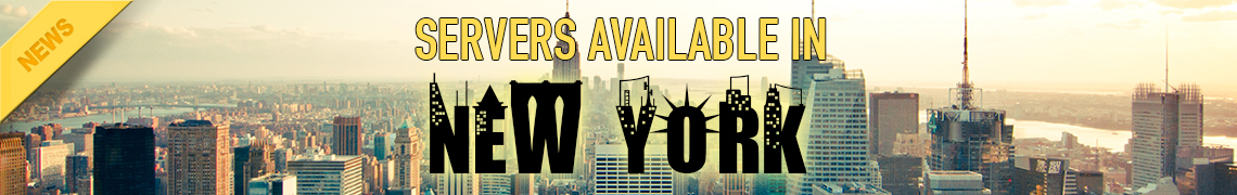 game server available in New York