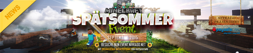 Nitrado:net Spätsommer Event 2015